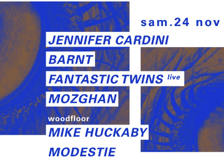 Jennifer Cardini, Barnt, Mike Huckaby à Paris 12ème