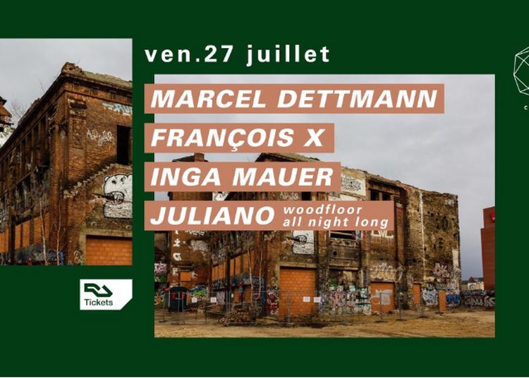 Concrete: Marcel Dettmann, Fran?ois X, Inga Mauer, Juliano à Paris 12ème