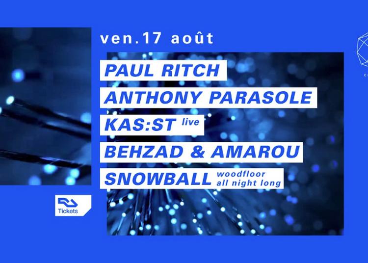 Paul Ritch, Anthony Parasole, Kas:st Live à Paris 12ème