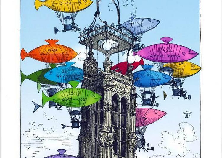 Conférence :  Albert Robida En Héritage Dans L'oeuvre D'hayao Miyazaki à Compiegne