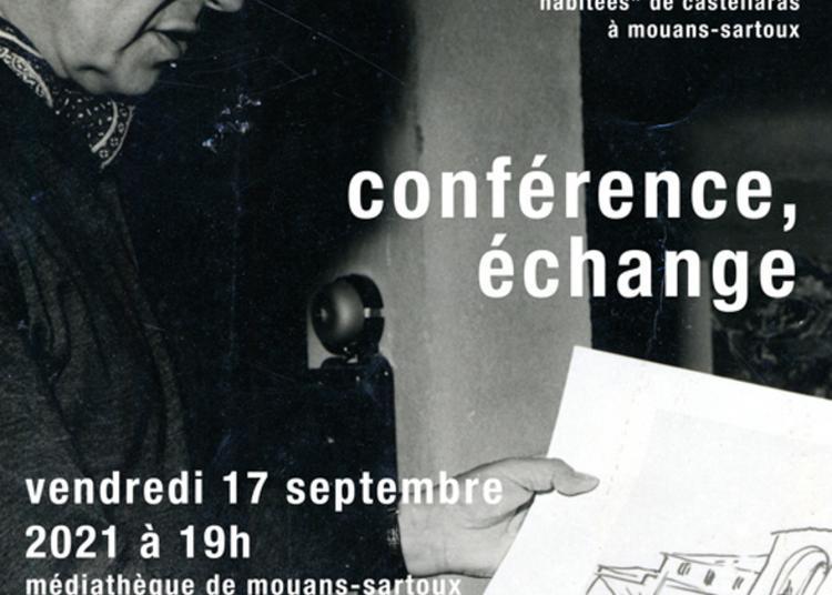 Conférence/échange Sur Jacques Couëlle Architecte Au Castellaras De Mouans-sartoux à Mouans Sartoux
