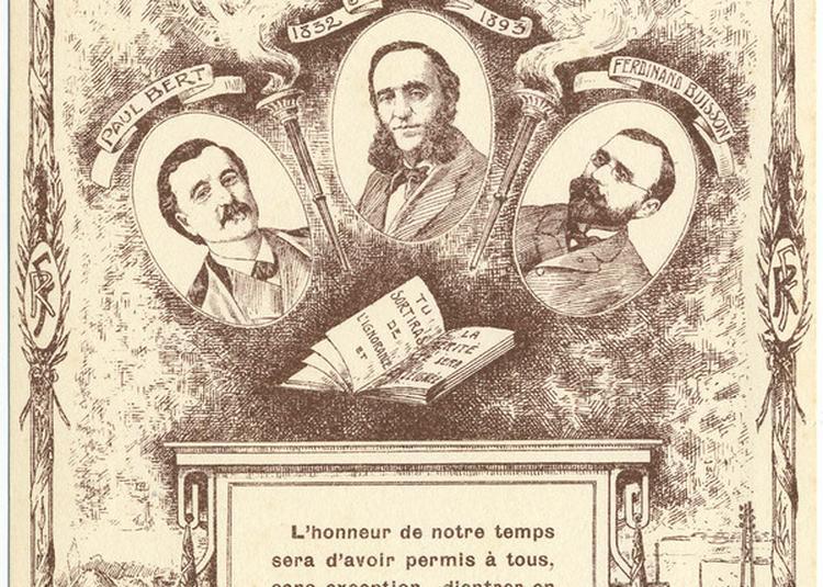 Conférence Inaugurale : Les Pères Du Musée Pédagogique : Jules Ferry Et Ferdinand Buisson à Rouen