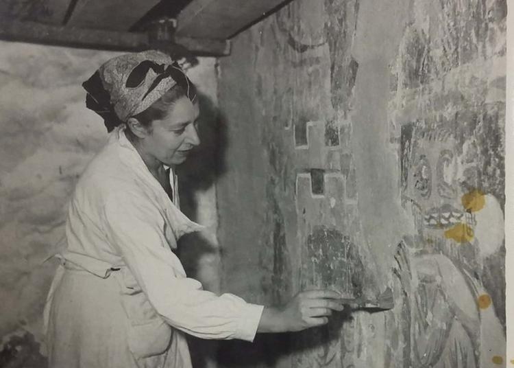 Conférence : La Découverte Des Peintures Murales De L'église Saint-hilaire, Madeleine Pré à Asnières 1951-1956 à Asnieres sur Vegre