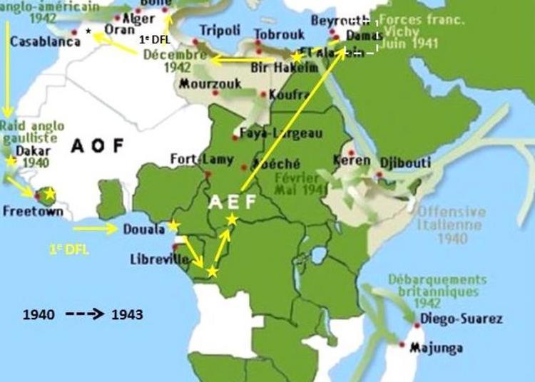 Conférence Eté 40, L'aube De L'afrique Française Libre à Brest