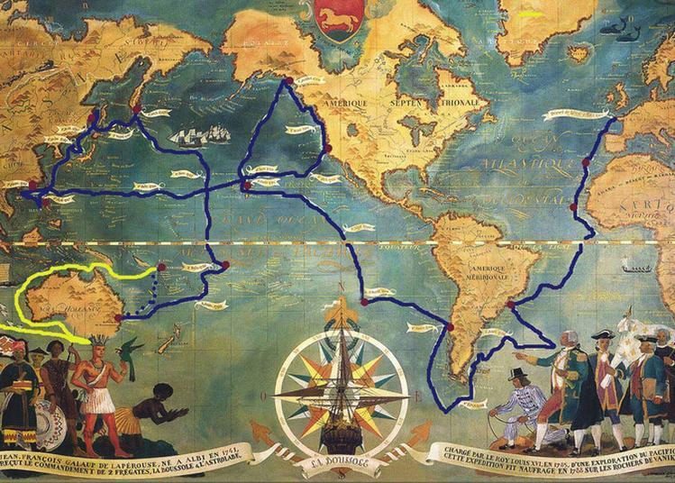 Conférence « Le Voyage De Lapérouse » à Rodez