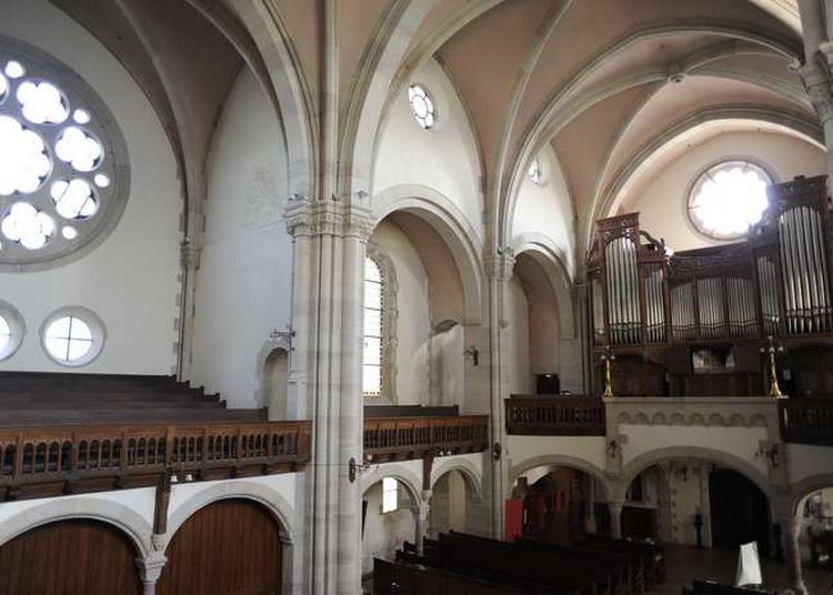 Conférence Le Protestantisme En France, Présentation Des Grands Orgues Et De L'architecture Du Temple à Metz