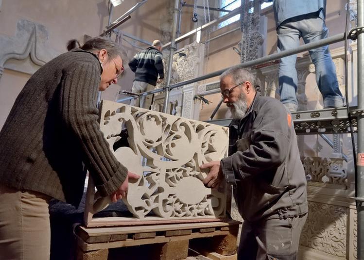 Conférence Restauration D'une Oeuvre Monumentale De La Renaissance, La Clôture De Chapelle à Langres
