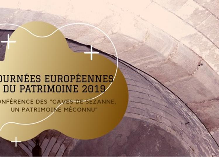 Conférence Sur Le Thème Des Caves De Sézanne, Un Patrimoine Méconnu à Sezanne