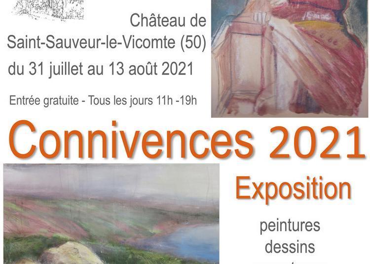 Connivences 2021 - Exposition de Philippe Lefebvre et Evelyne Gouy à Saint Sauveur le Vicomte