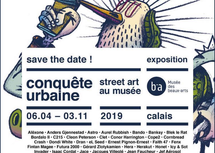 Conquête Urbaine, Street Art Au Musée à Calais