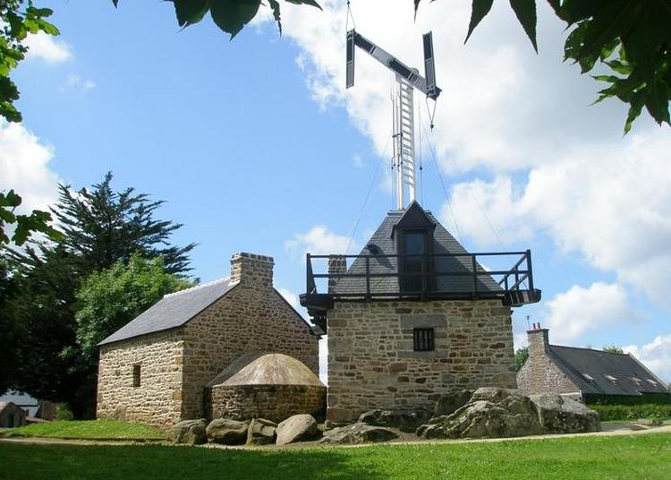 Construction D'un Télégraphe De Chappe à Saint Marcan