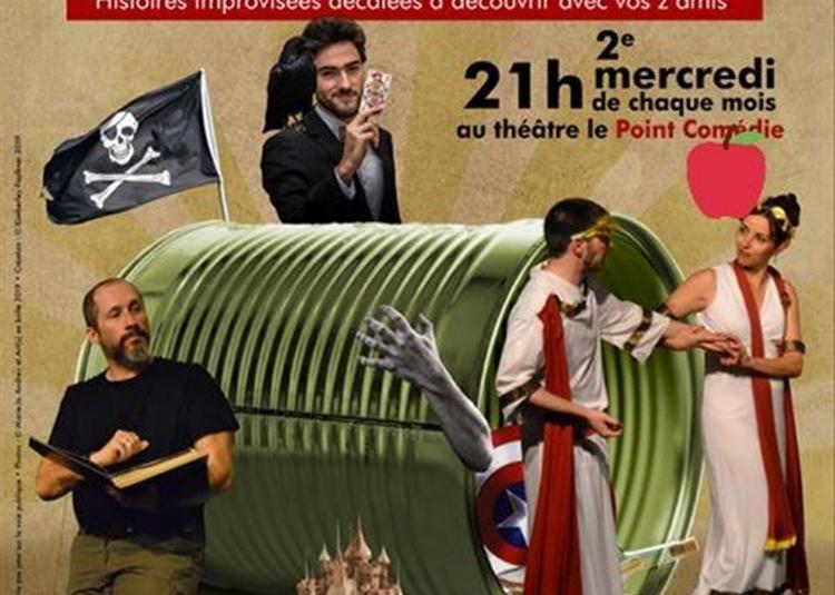 Contes En Boîte - Contes Improvisés à Montpellier