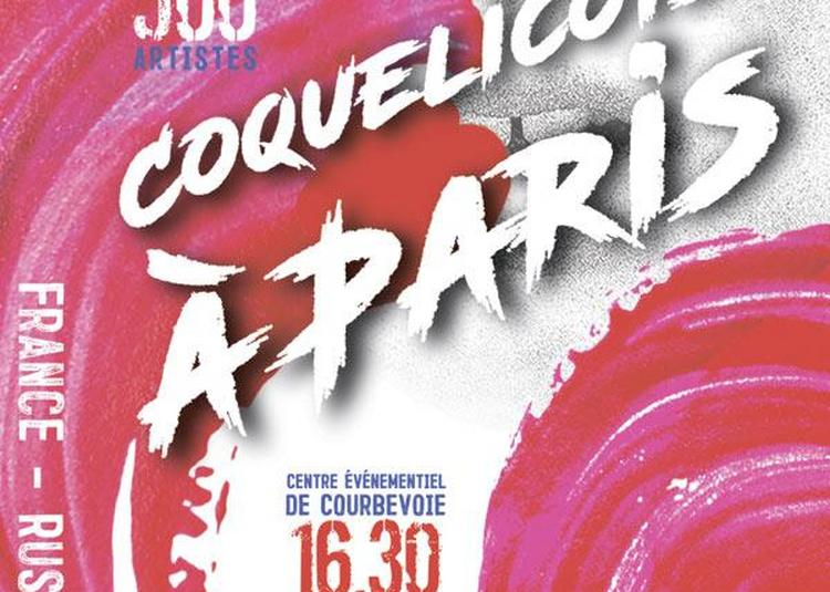 Coquelicots A Paris à Courbevoie