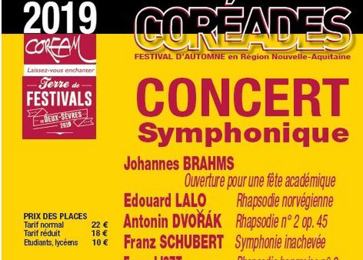 Coréades: Concert symphonique à Melle