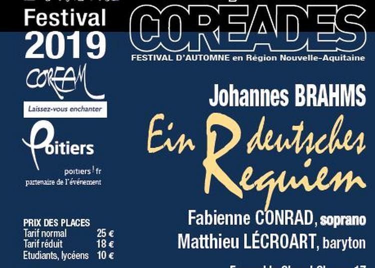 Coréades : Ein Deutsches Requiem à Poitiers