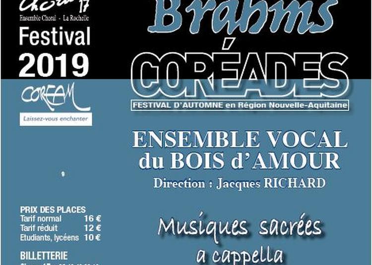 Coréades: Ensemble Vocal Le Bois d' Amour à Marsilly