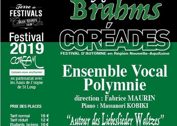 Coréades : Ensemble Vocal Polymnie à Saint Loup Lamaire
