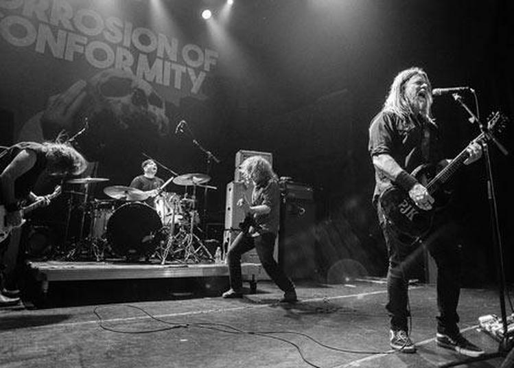 Corrosion Of Conformity à Paris 13ème
