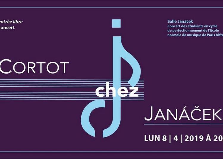 Cortot chez Janá ek à Paris 6ème