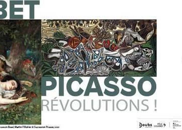 Courbet/picasso, Révolutions ! à Ornans