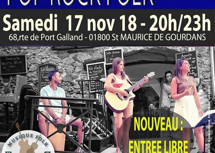 Crep concert Pop Rock Folk à Saint Maurice de Gourdans