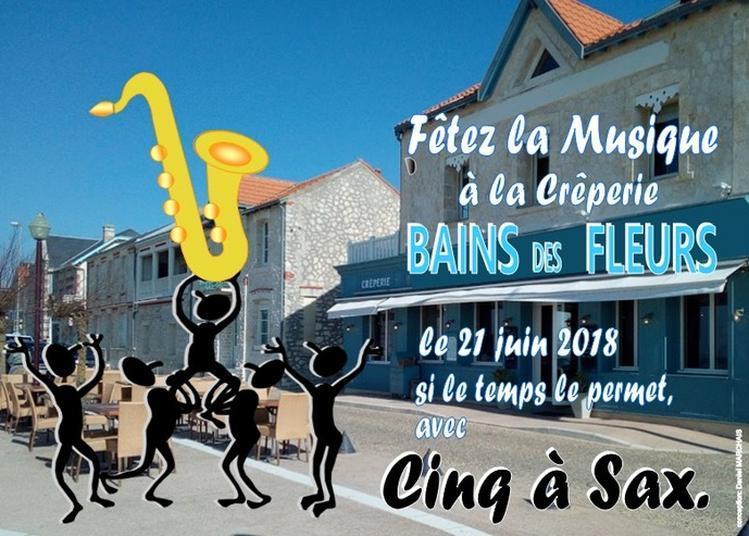 Crêpes Et Saxophones à Chatelaillon Plage