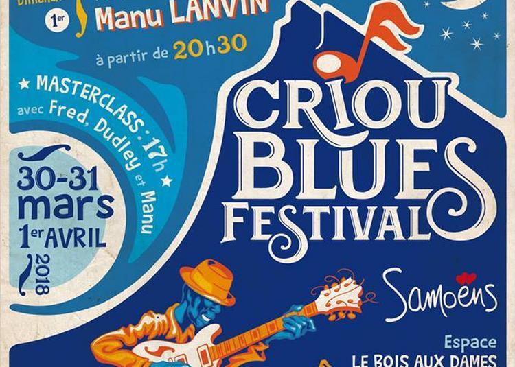 Criou Blues Festival: Dudley Taft et Heymoonshaker à Samoens