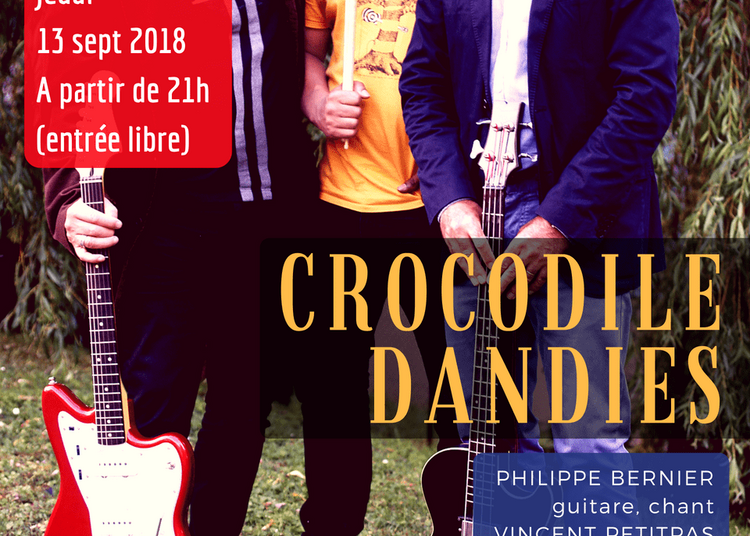 Crocodile Dandies à Paris 14ème