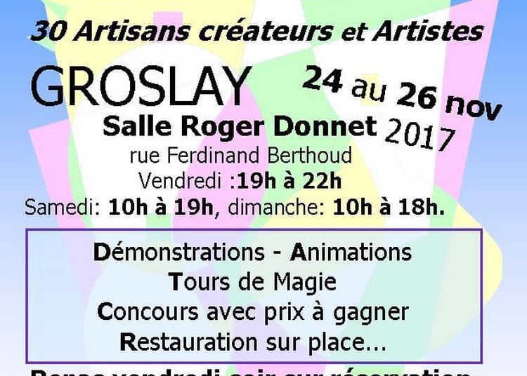 Croisée des Arts à Groslay