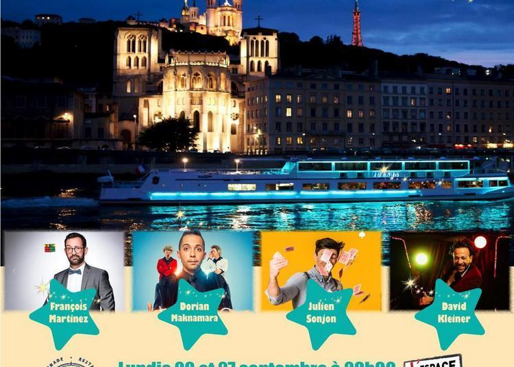 Croisière spectacle humoristique sur la Saône à Lyon