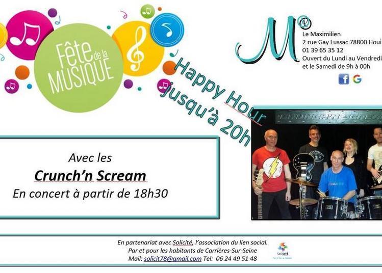 Crunch'n'Scream (Fête de la Musique 2018) à Houilles