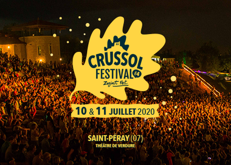 Crussol Festival 2020 - billet journée à Saint Peray du 10