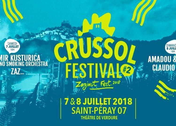 Emir Kusturica & The No Smoking Orchestra et Zaz à Saint Peray