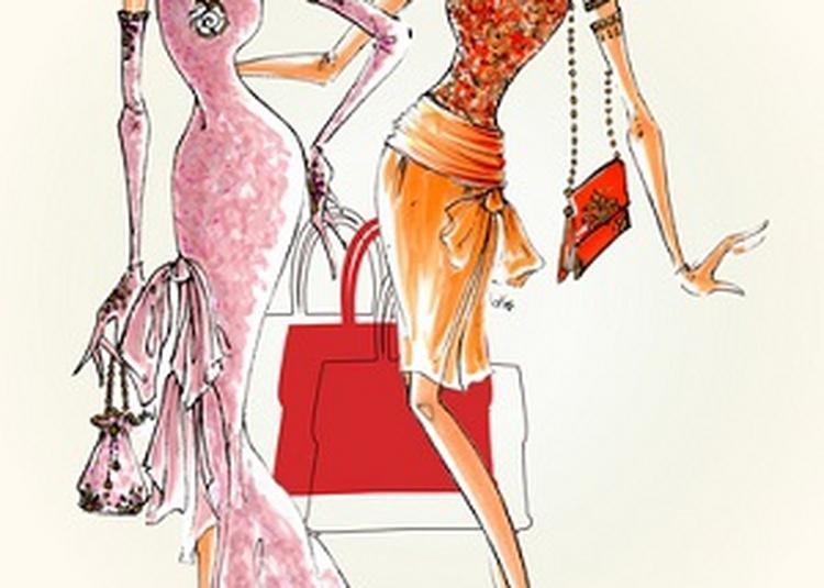 Cuir ou perle, le sac à main de luxe. à Luneville