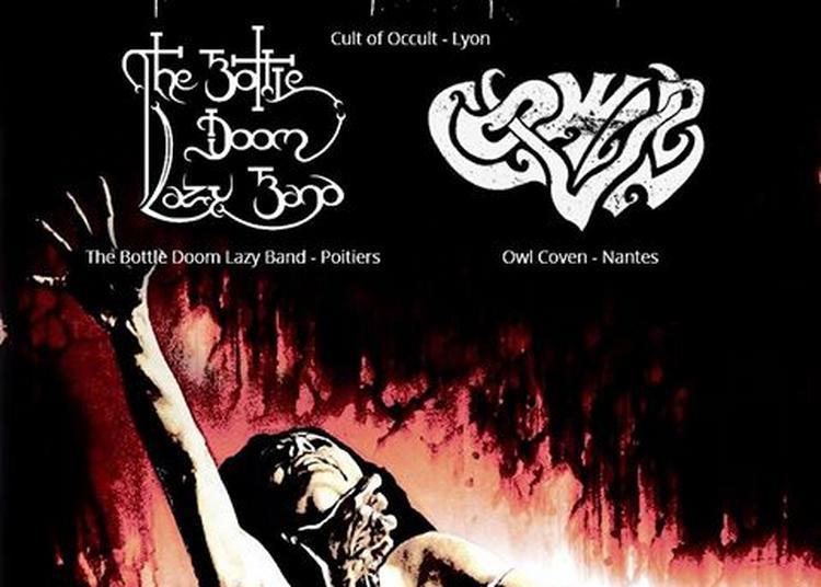 Cult of Occult / The Bottle Doom Lazy Band / Owl Coven à Paris 11ème