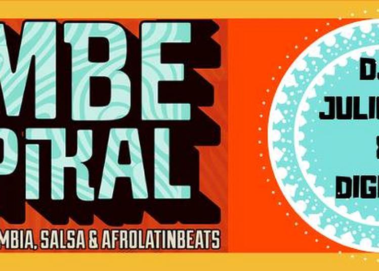Cumbé Tropikal Djs Digicla & Julio Inti Vinyles Set à Paris 11ème