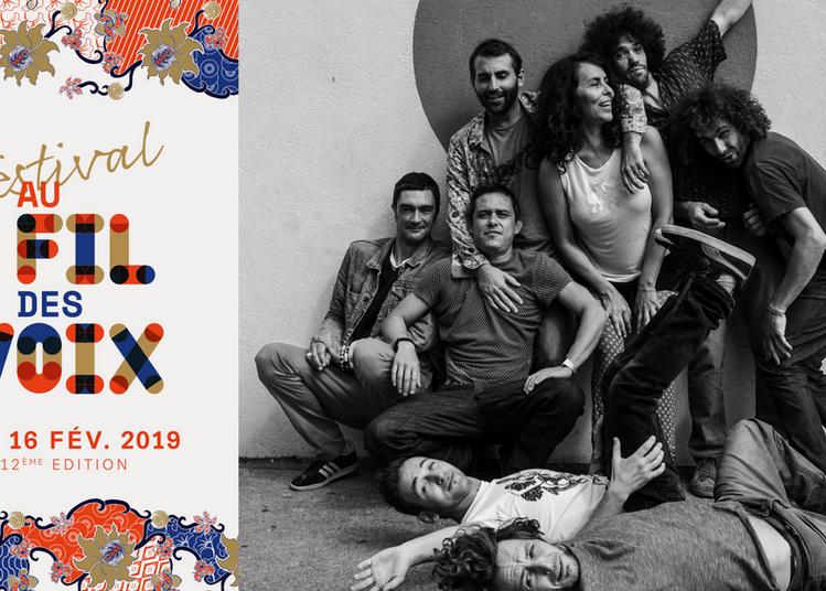 Cumbia Chicharra - Festival Au Fil des Voix à Paris 20ème