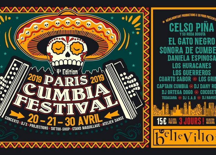 Cumbia Festival Paris 2019 à Paris 20ème