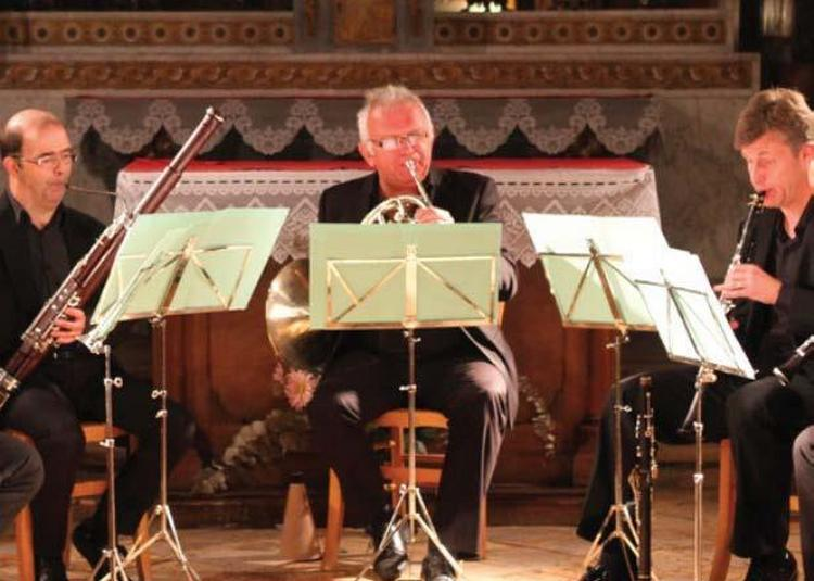 Cycle De Musique De Chambre Au Mudo Avec Le Quatuor À Vent à Beauvais