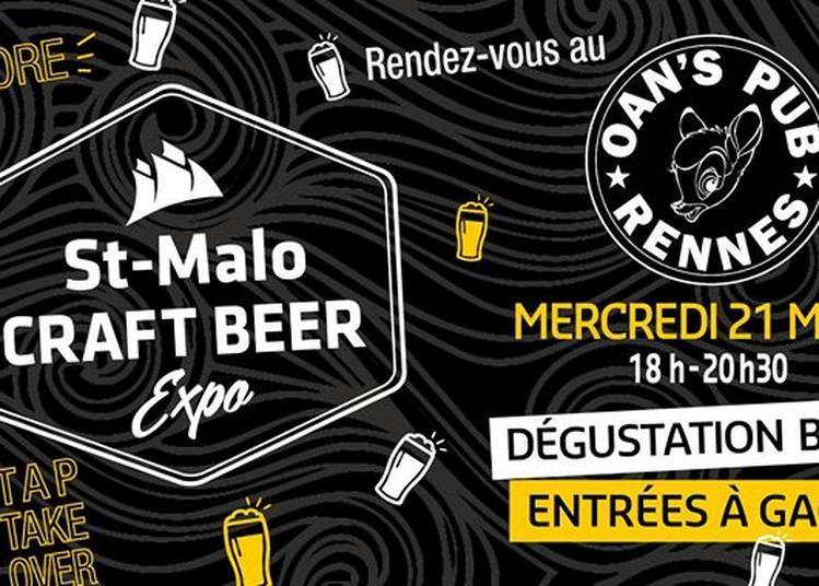Dégust au Oans - Saint Malo Craft Beer à Rennes