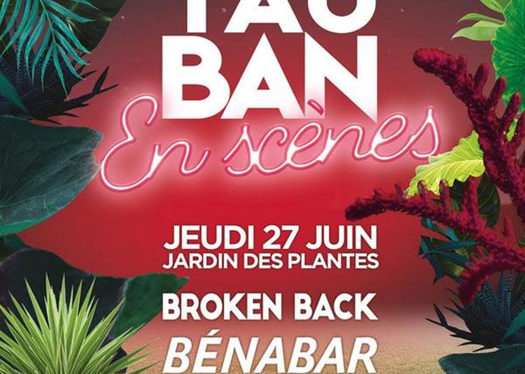 Montauban En Scènes 2019 - Broken Back, Benabar Et Dadju