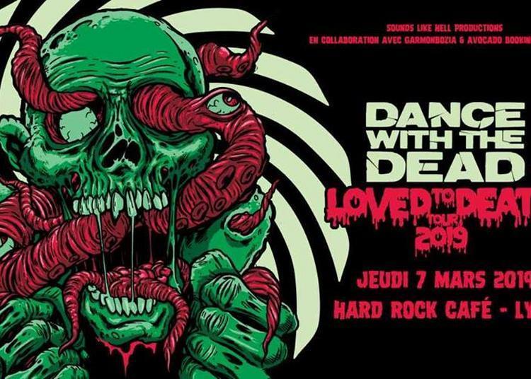 Dance With The Dead et Lebrock à Lyon (Hard Rock Cafe)