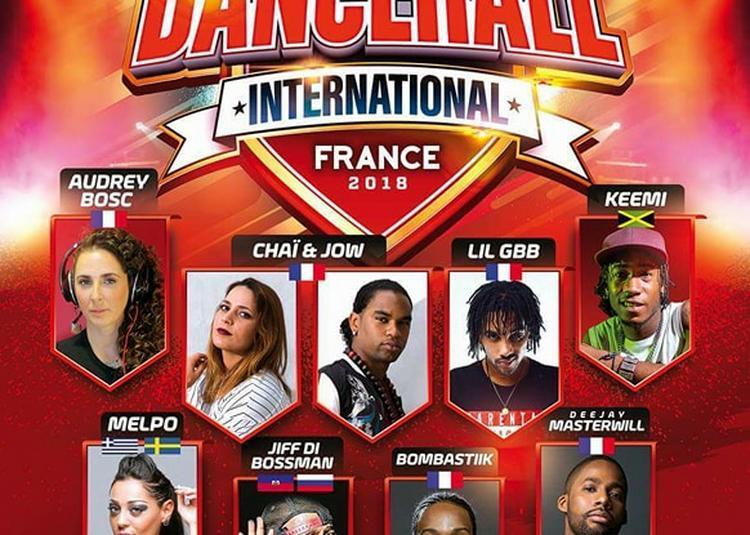 Dancehall International France 2018   Battles & Party   Dj Masterwill à Montpellier