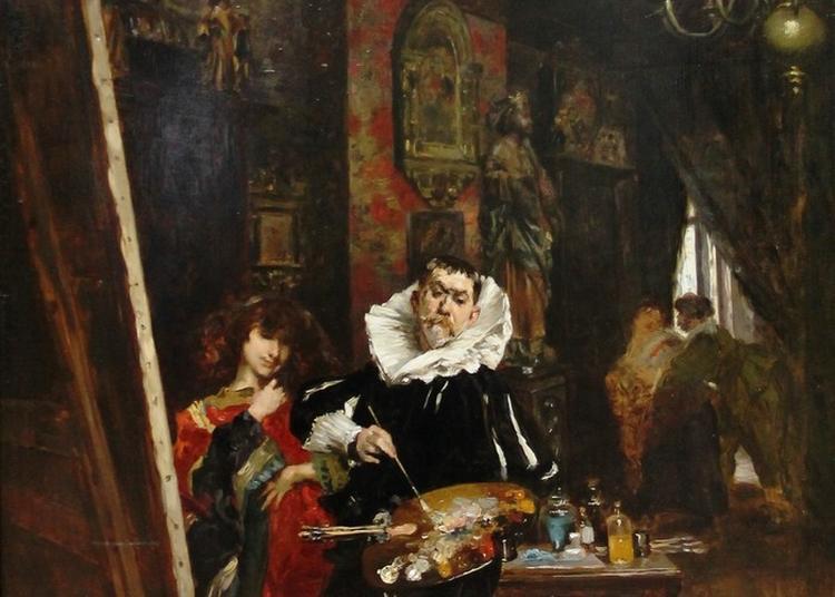 Dans L'atelier De Ferdinand Roybet à Courbevoie