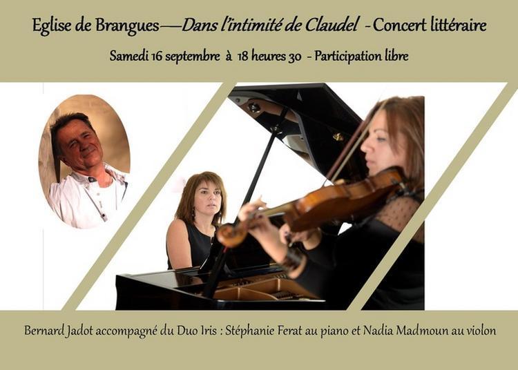 Dans L'intimité De Paul Claudel - Concert Littéraire à Brangues