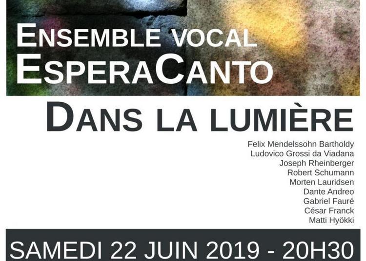 Dans la lumière- concert chorale et instrumental à Reviers