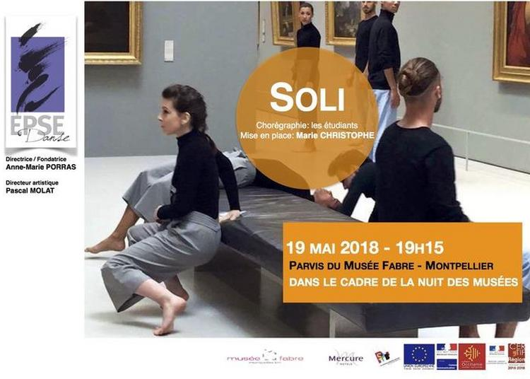 Danse Soli à Montpellier