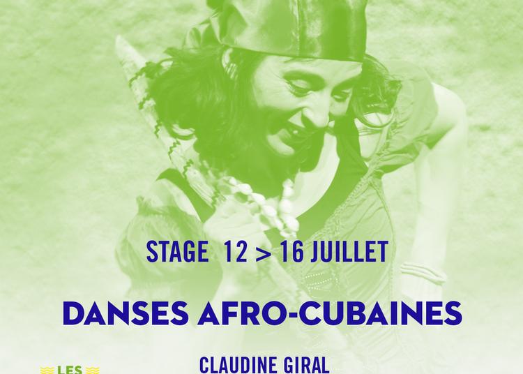 Danses afro-cubaines à Arles