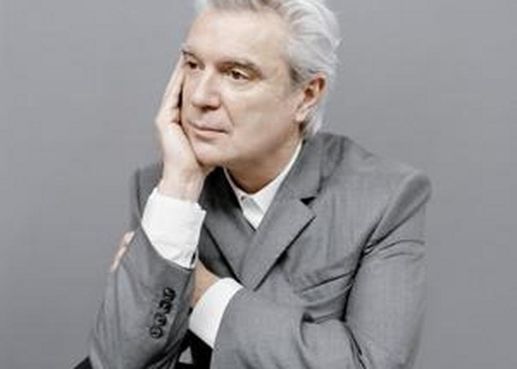 David Byrne à Paris 19ème