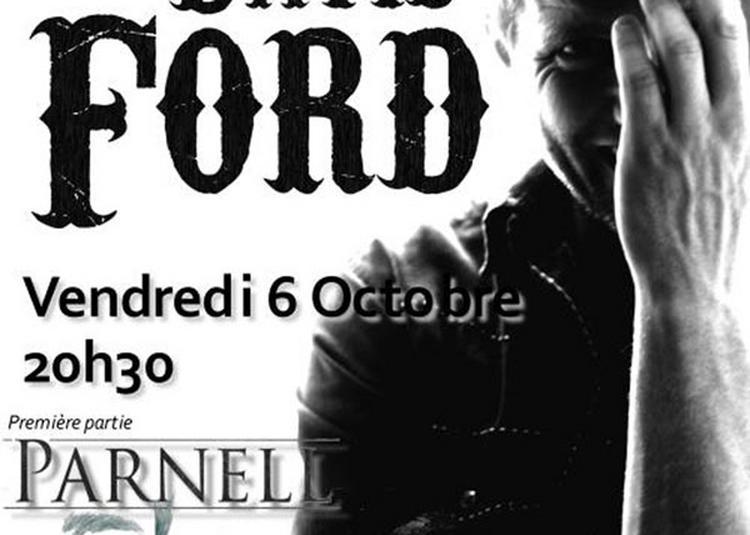 David Ford + 1ere Partie Parnell à Paris 13ème